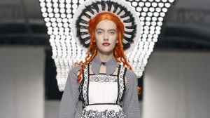 Meadham Kirchhoff Spring/Summer 2014 | Source: NowFashion