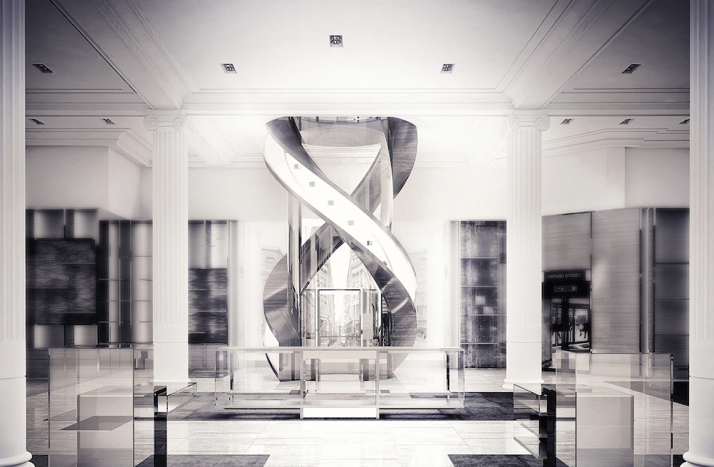 Rendering of the Louis Vuitton Townhouse at Selfridges | Source: Louis Vuitton