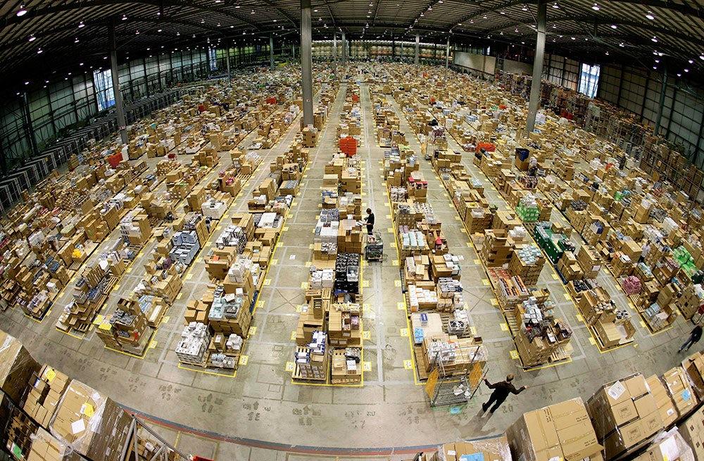 Amazon shipping warehouse | Source: Amazon