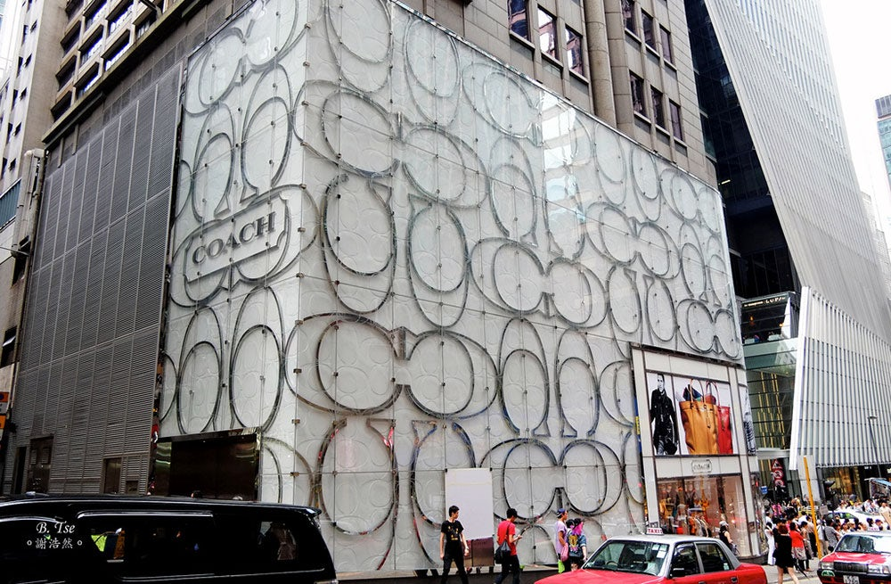 Coach Store in Hong Kong | Source: Flickr