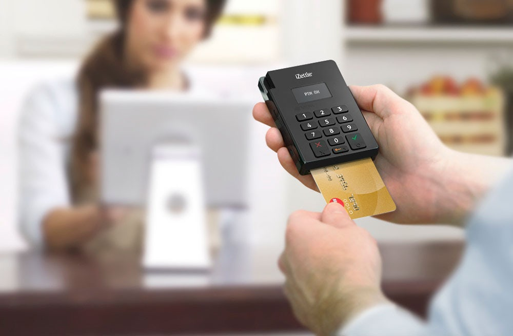 iZettle's payment platform in action | Source: iZettle