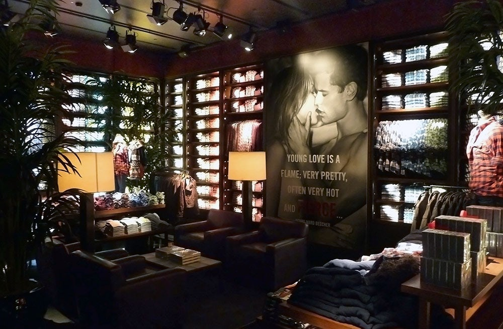 Abercrombie & Fitch flagship store | Source: Abercrombie & Fitch