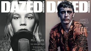 The January 2014 and December 2013 covers of Dazed & Confused | Source: Dazed & Confused