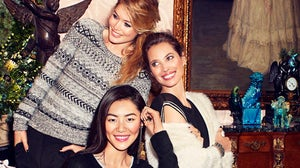 Doutzen Kroes, Christy Turlington, and Liu Wen star in H&M's Holiday 2013 campaign | Source: H&M
