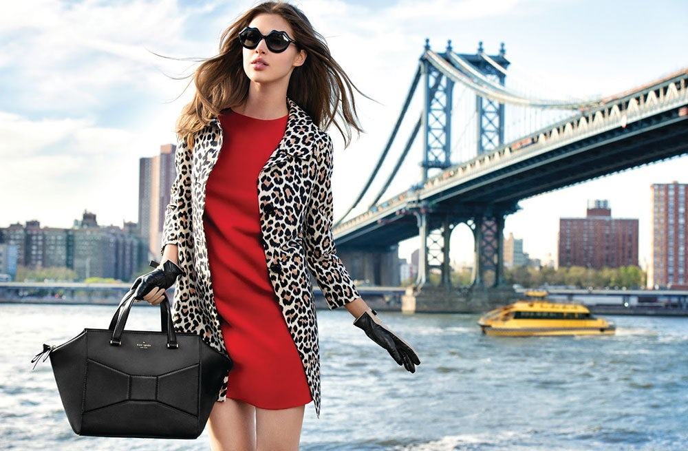 Kate Spade Autumn/Winter 2013 campaign | Source: Kate Spade