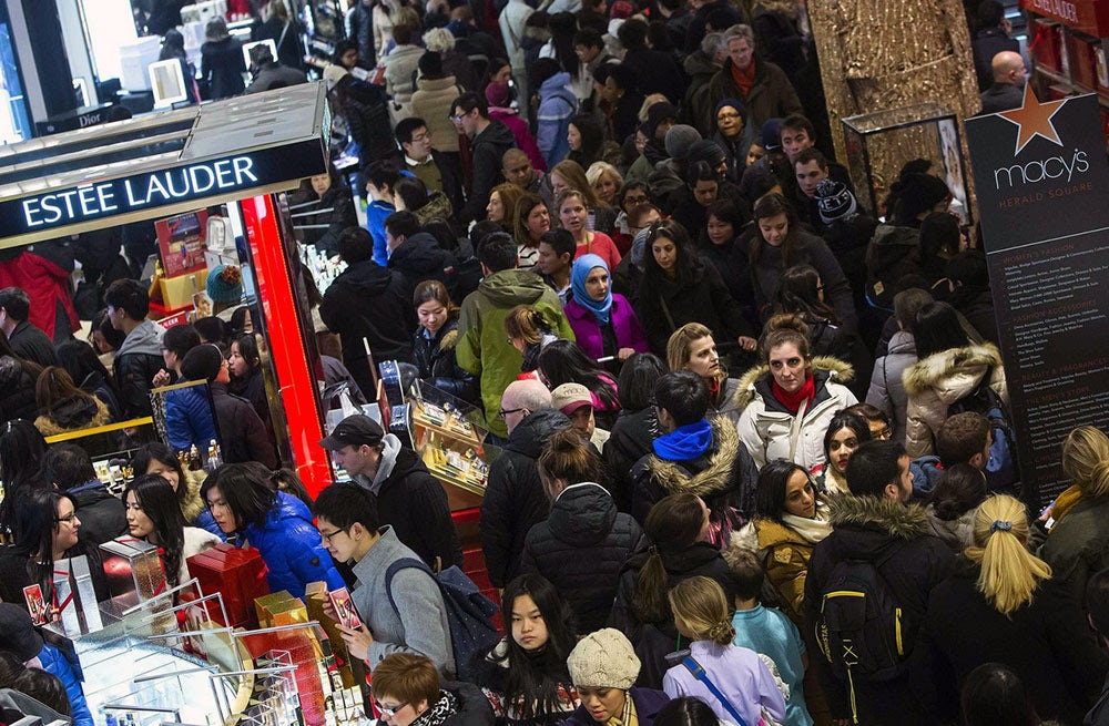 A New York Macy's store on Black Friday | Source: Reuters