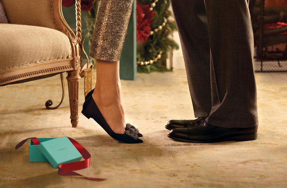 Tiffany holiday campaign | Source: Tiffany & Co