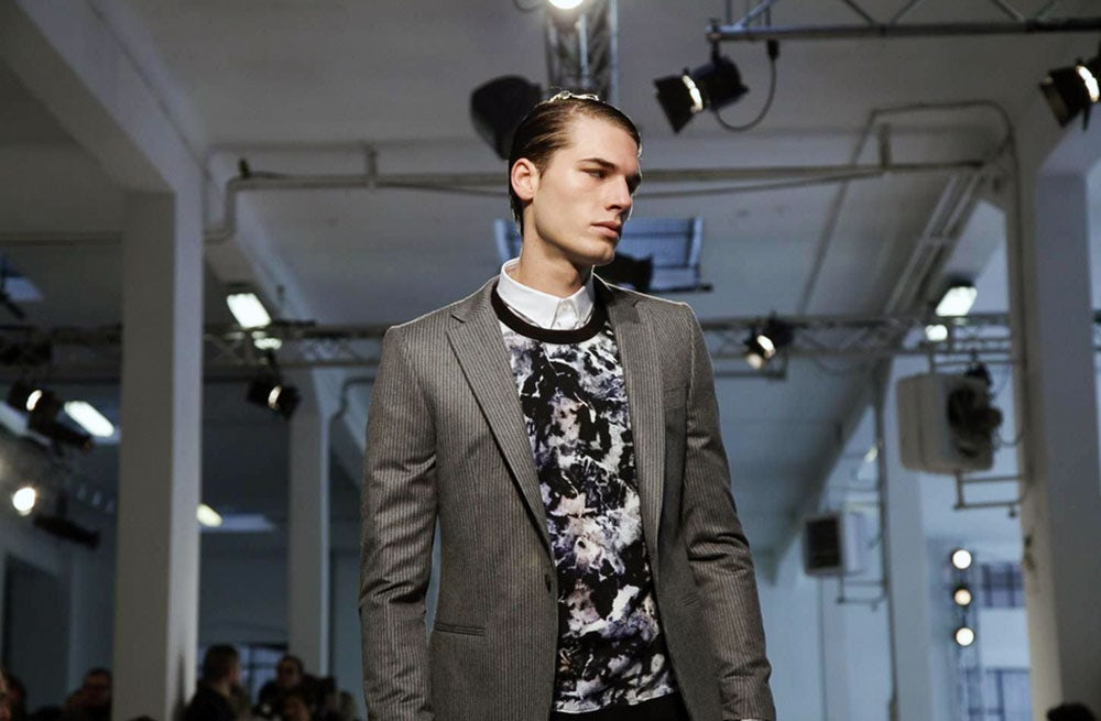 MSGM Menswear Autumn/Winter 2014 | Source: NowFashion
