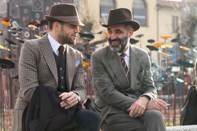 Pitti Uomo | Photo: Melodie Jeng, thenycstreets.com