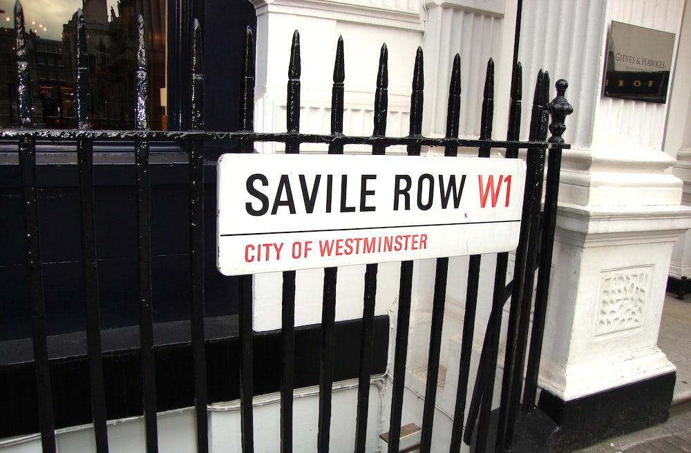 Savile Row | Source: Flickr