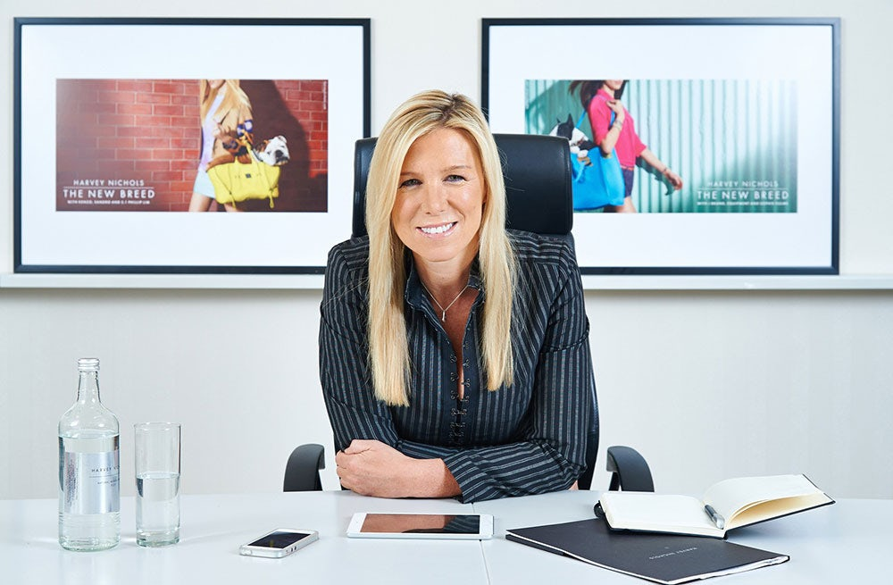 Stacey Cartwright, Harvey Nichols' CEO   Source: Vogue UK
