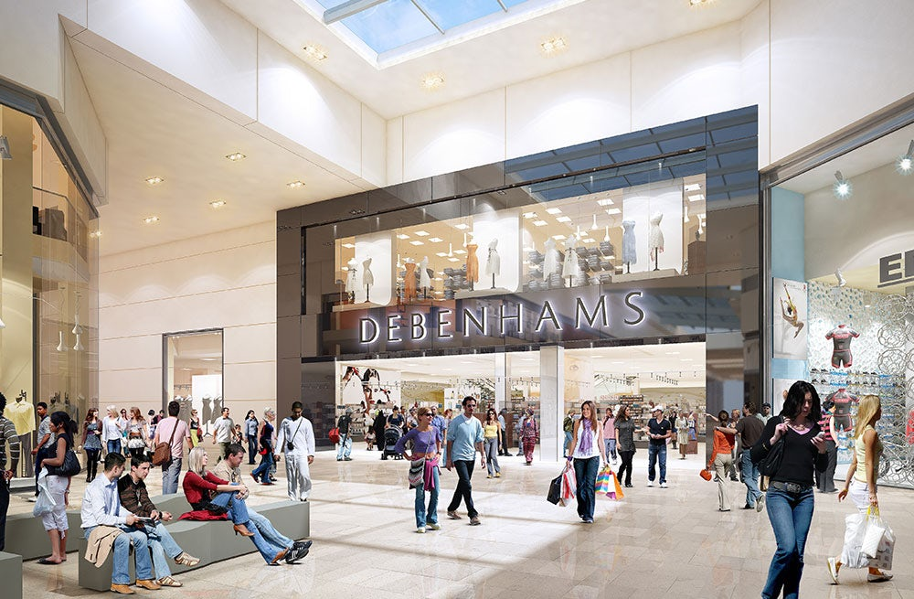 Debenhams rendering | Source: Debenhams