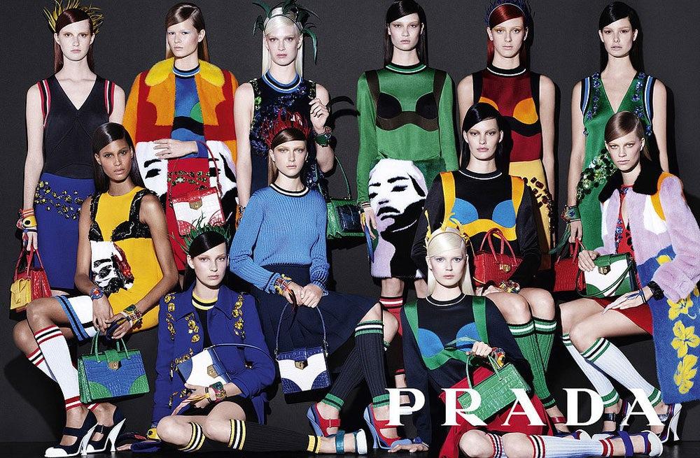 Prada Spring/Summer 2014 Campaign | Source: Prada