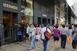 Luxury brands in Hong Kong   Source: Shutterstock