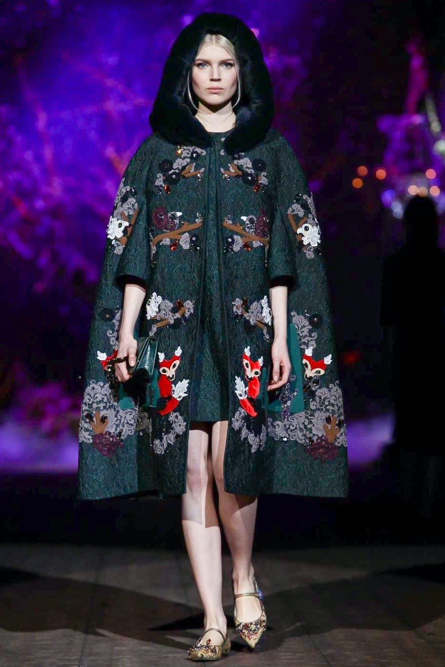 Best in Show: Fairytale at Dolce & Gabbana, Agnona's Evening and a Quieter Pucci