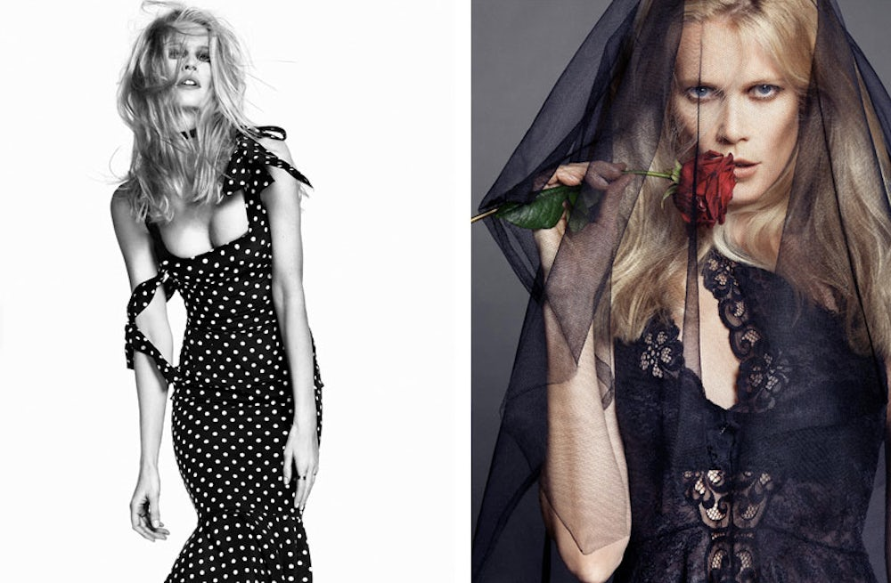 Claudia Schiffer shot by Nico for The Edit | Source: Net-a-porter