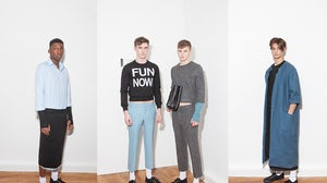 Pieter's debut A/W 2014 Collection | Source: Pieter