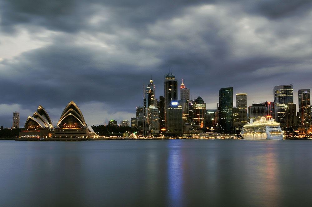 Clouds over Sydney, Australia | Source: Shutterstock