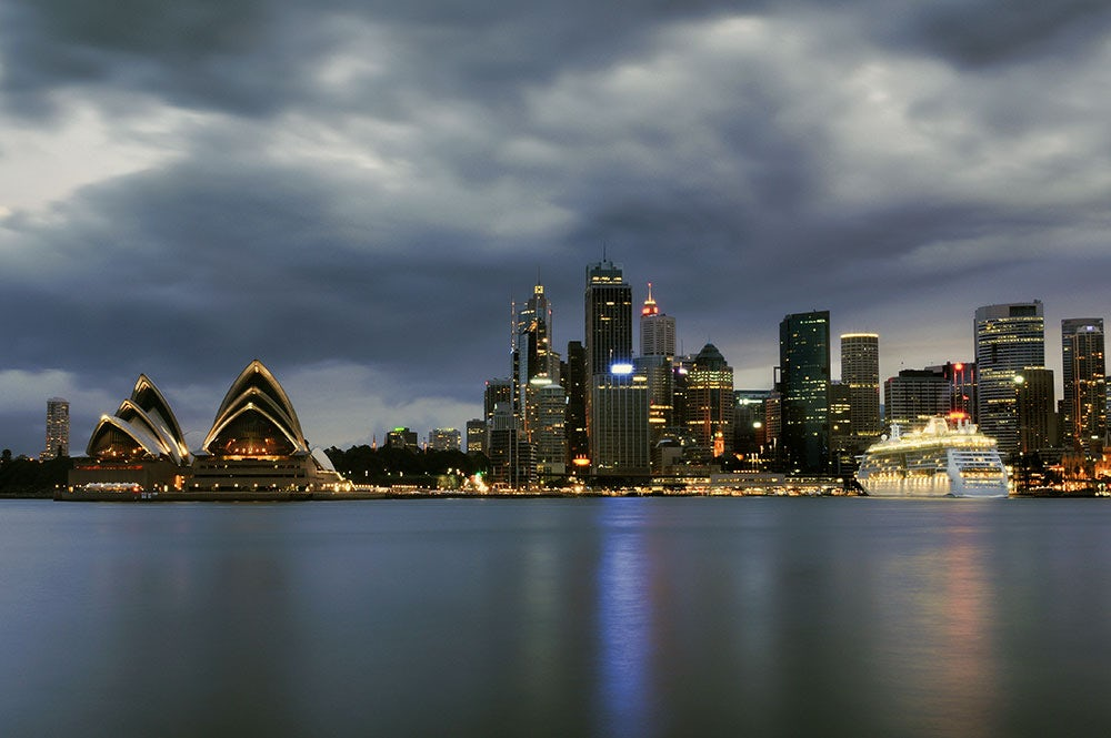 Clouds over Sydney, Australia | Source: Shutterstock