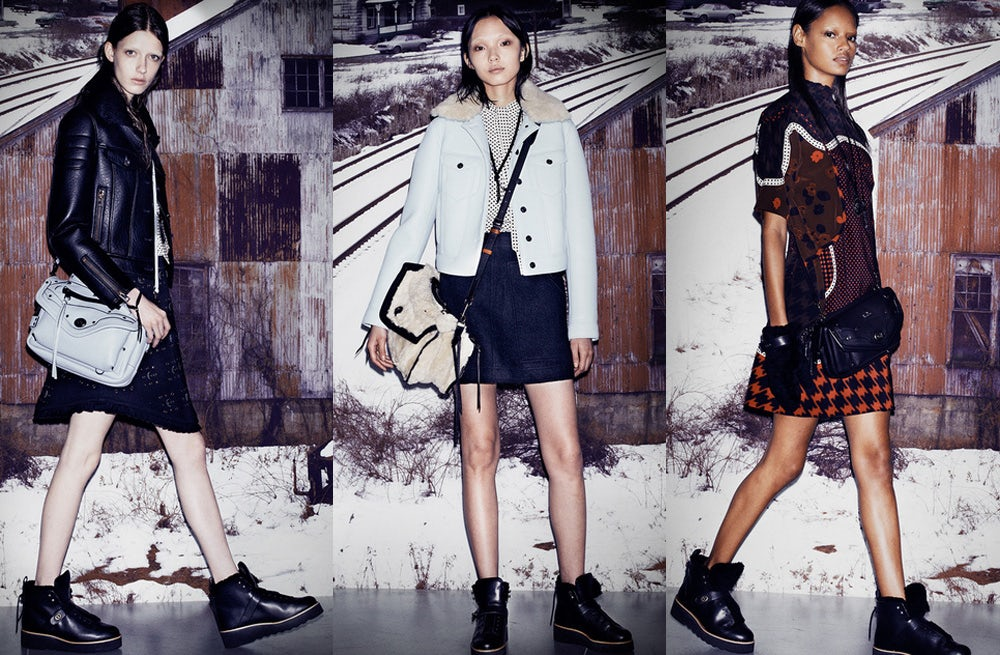 Coach by Stuart Vevers Autumn/Winter 2014 lookbook | Source: Coach