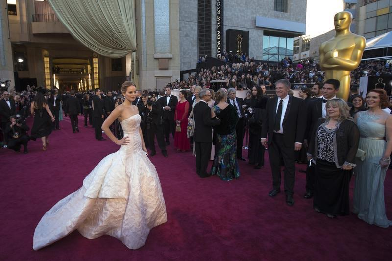 Jennifer Lawrence on the red carpet | Source: Reuters
