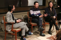 Imran Amed, Humberto Leon, Carol Lim | Photo: Benjamin Lozovsky/BFAnyc.com