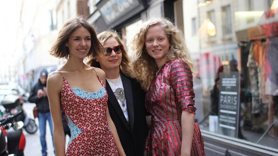 Sarah Mower at Showcase Ukraine Fashion | Source: Mercedes-Benz Kiev