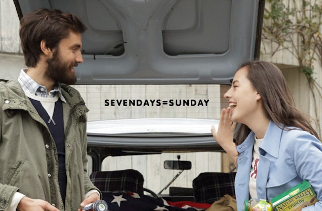 Advertising for Sevendays Sunday, owned by Cross Company | Source: Sevendays Sunday