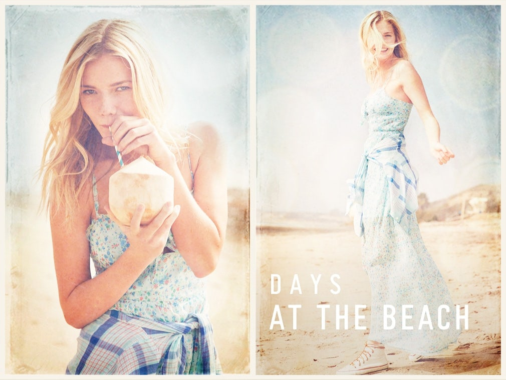 Hollister campaign | Source: Hollister