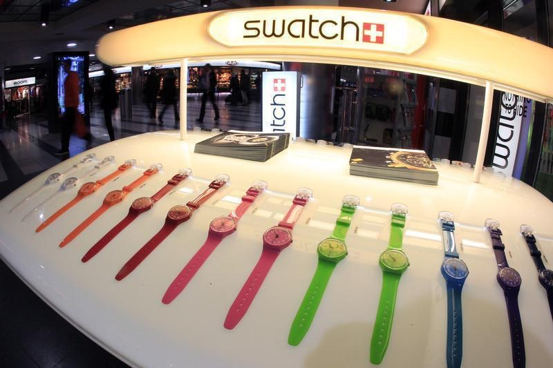 Swatch watches | Source: Reuters