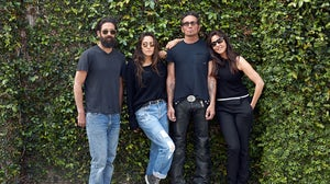 From left: Greg Chait, Jesse Jo Stark, Richard Stark, and Laurie Lynn Stark | Source: Courtesy Chrome Hearts