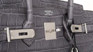 Grey Hermès Birkin | Source: Hermès