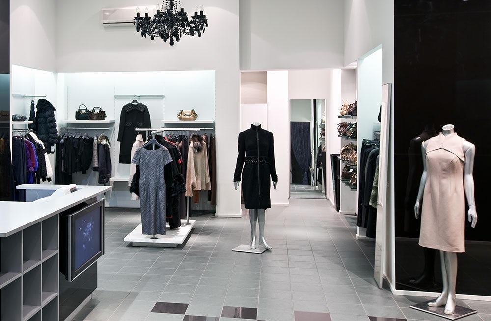 Interior of a fashion boutique | Source: Shutterstock