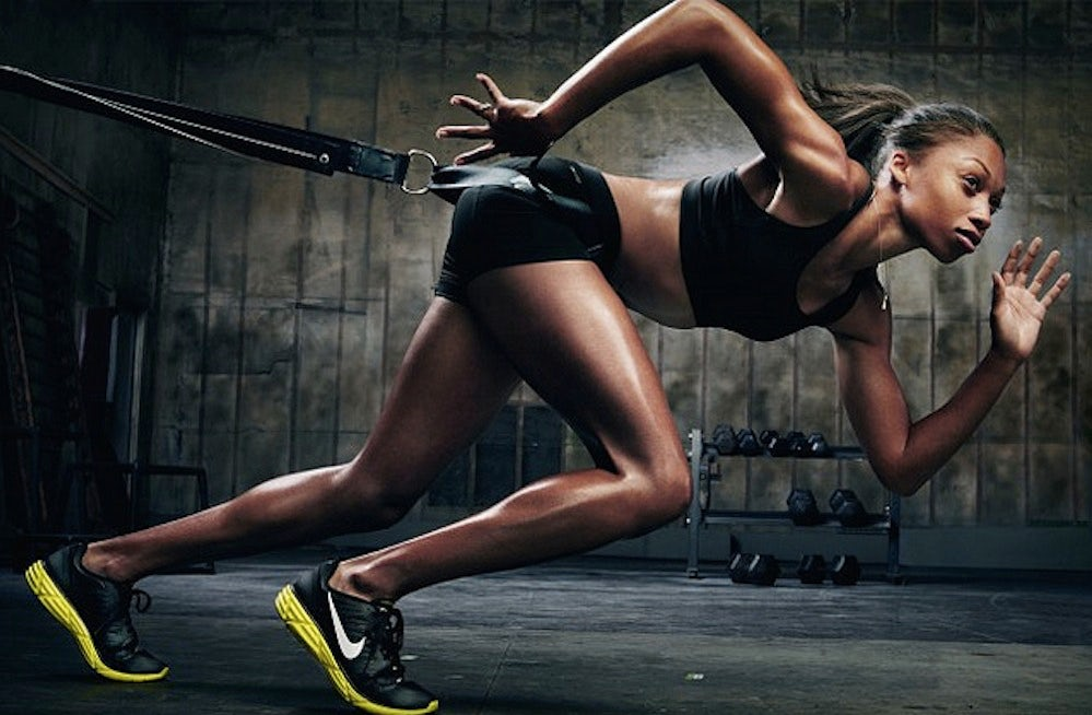 Allyson Felix for Nike | Source: Nike