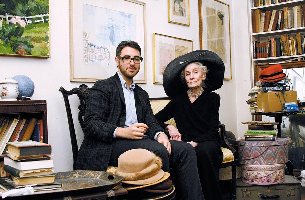 Ari Seth Cohen with Mimi Weddell   Source: Courtesy Ari Seth Cohen