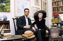 Ari Seth Cohen with Mimi Weddell | Source: Courtesy Ari Seth Cohen