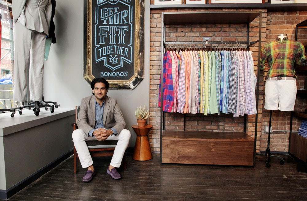 Andy Dunn, founder of Bonobos | Photo: Alexander Thompson