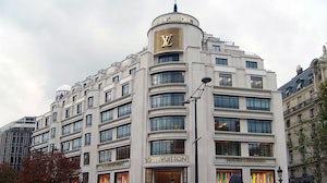 Louis Vuitton flagship on the Champs-Élysées, Paris   Source: Wikimedia