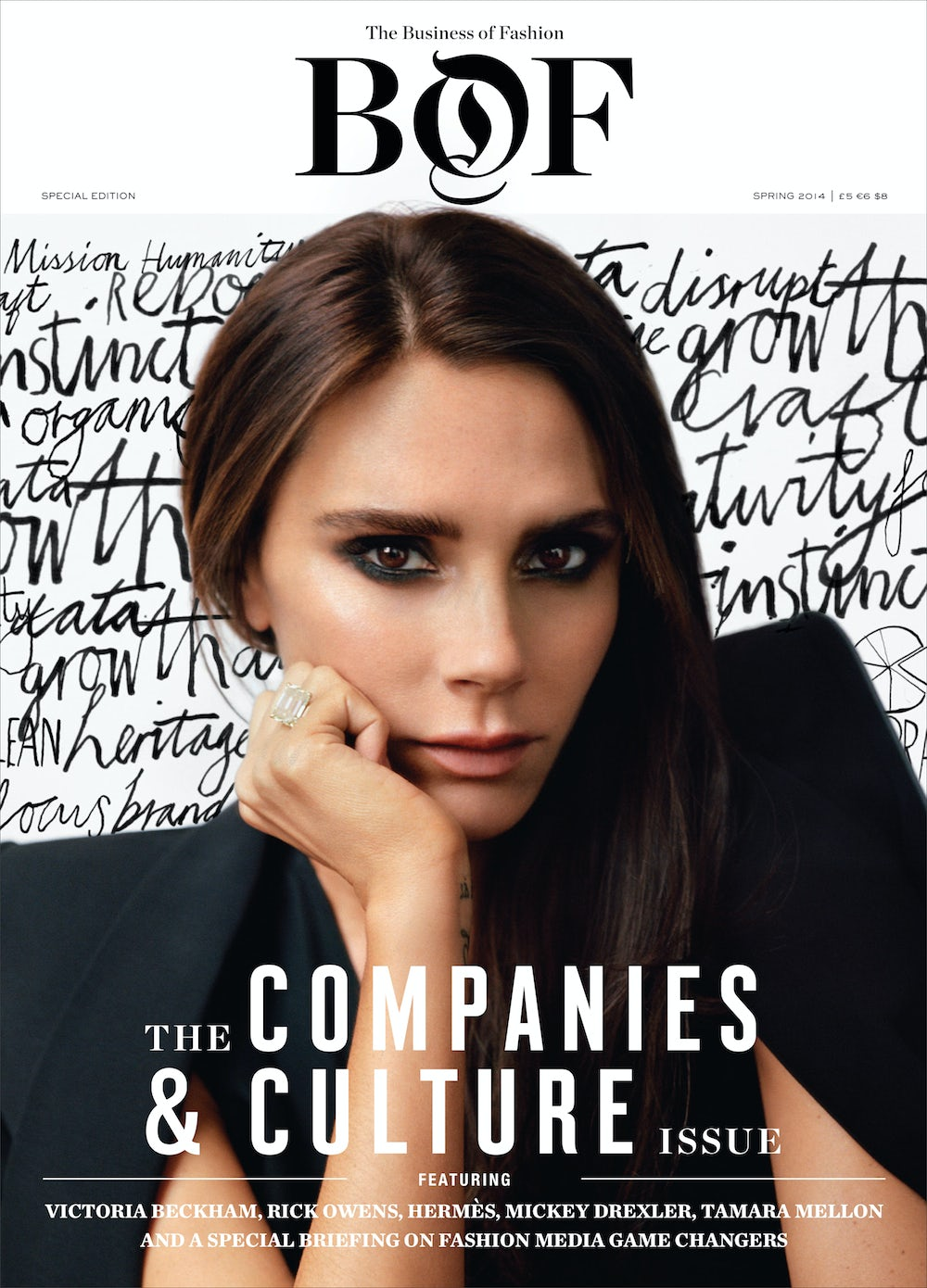 The Business of Fashion, Companies and Culture Issue | Cover photo: Alasdair McLellan