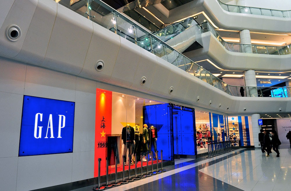Gap store | Source: Flickr