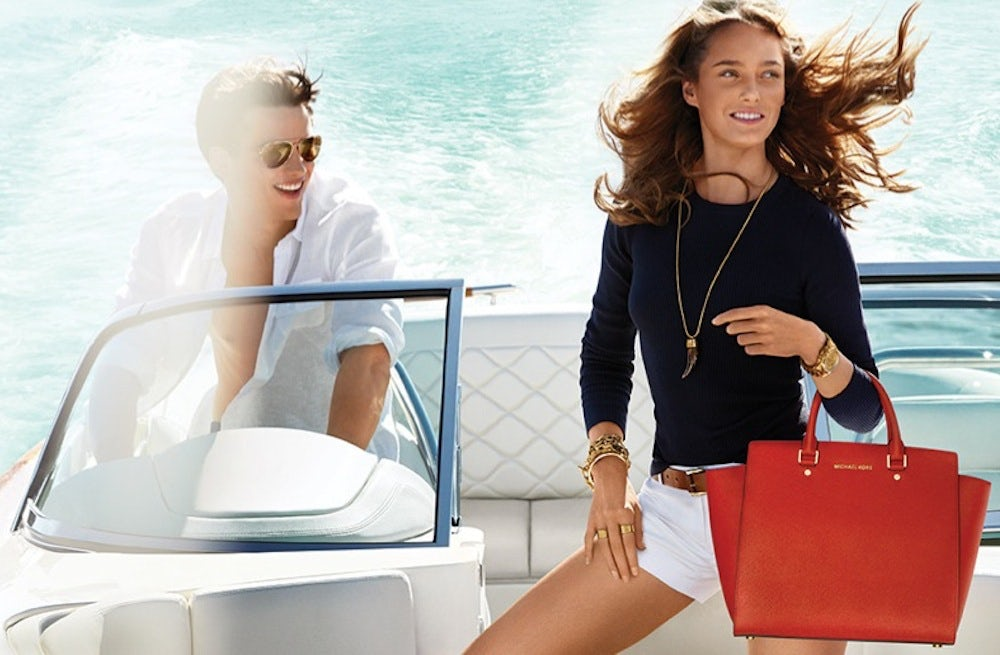 Michael Kors S/S 2014 campaign | Source: Michael Kors