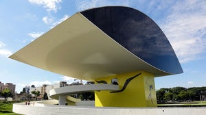 Museu Oscar Niemeyer in Curitiba, capital of Paraná state | Source: Flickr