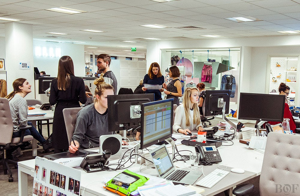 Inside Elle (UK) offices in London | Photo: Morgan O'Donovan for BoF