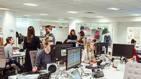 Inside Elle Uk Offices In London Photo Morgan O Donovan For
