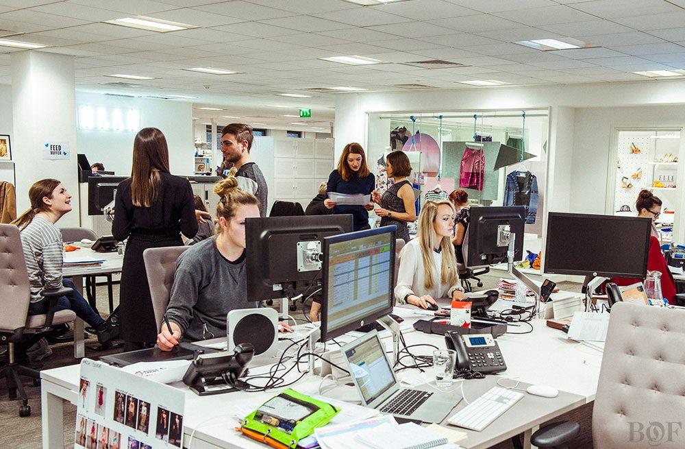 Inside Elle (UK) offices in London | Photo: Morgan O'Donovan for BoF