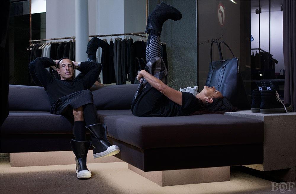Rick Owens and Michèle Lamy   Photo: Matthew Stone for BoF