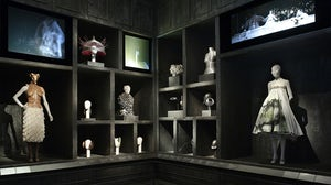 Cabinet of Curiosities at 'Alexander McQueen: Savage Beauty' | Source: Metropolitan Museum