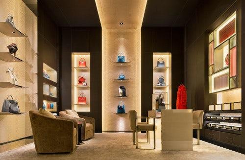 'Selleria' room in Fendi on Bond Street, London | Source: Courtesy