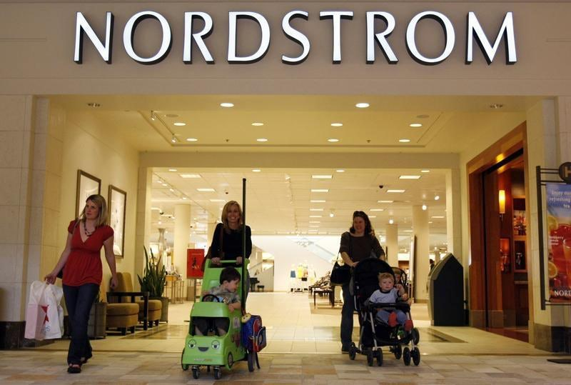 Shoppers at Nordstrom | Source: Reuters