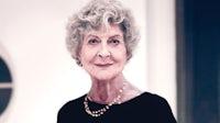 Joan Burstein | Photo: Michael Hemy for BoF